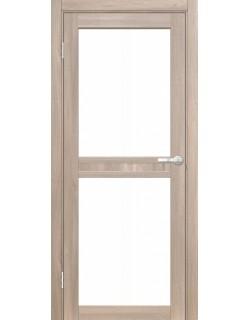 Межкомнатная дверь Кампания 2 Велюр серый