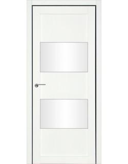Дверь межкомнатная Кения 3 велюр белый