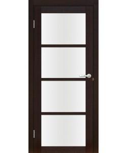 Межкомнатная дверь Лацио 2 Велюр шоко