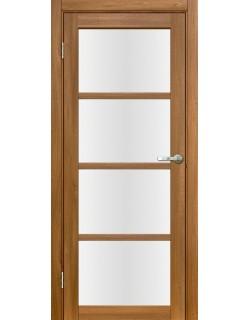Межкомнатная дверь Лацио 2 Вельвет орех