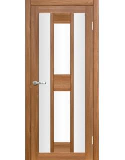 Межкомнатная дверь Лигурия 2 Вельвет орех