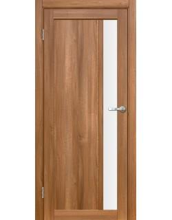 Межкомнатная дверь Марке 1 Вельвет орех