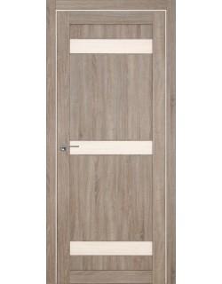 Дверь межкомнатная Марокко 1 велюр серый