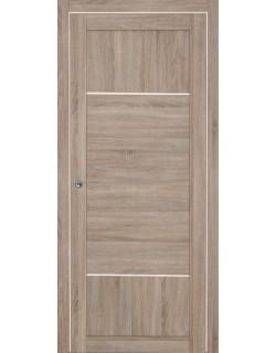 Дверь межкомнатная Тунис 1 велюр серый