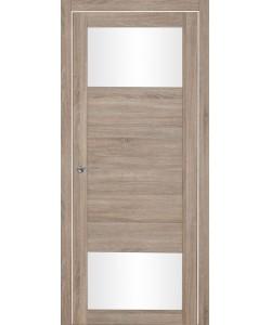 Дверь межкомнатная Тунис 2 велюр серый