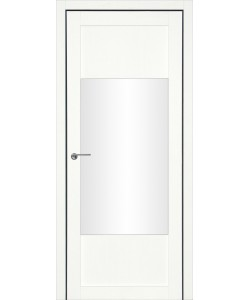 Дверь межкомнатная Тунис 3 велюр белый