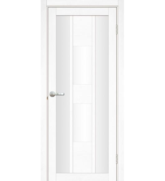 Межкомнатная дверь Молизе 2 Велюр белый