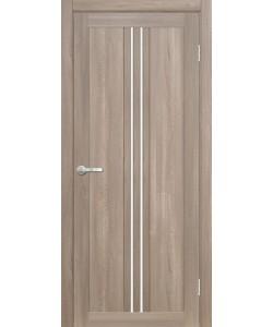 Межкомнатная дверь Сицилия 1 Велюр серый