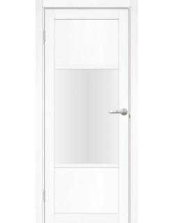 Межкомнатная дверь Тоскана 3 Велюр белый