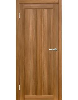 Дверь межкомнатная Венето 1 вельвет орех