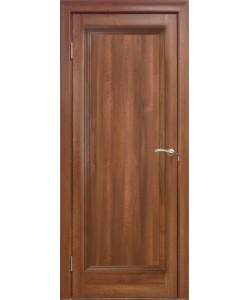 Межкомнатная дверь 1 Р Вельвет орех