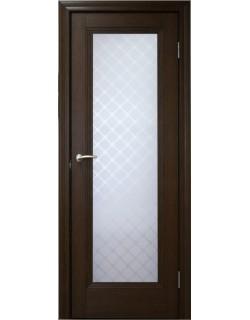 Межкомнатная дверь 1 V Туркуаз Дуб темный