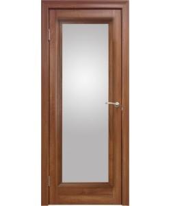 Межкомнатная дверь 1 V Вельвет орех