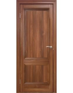 Межкомнатная дверь 2 P Вельвет орех