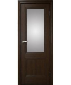 Межкомнатная дверь 2 V Дуб темный
