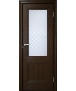Межкомнатная дверь 2 V Туркуаз Дуб темный