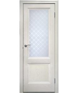 Межкомнатная дверь 2 V Туркуаз Ясень