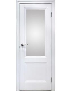 Межкомнатная дверь 2 V Велюр белый