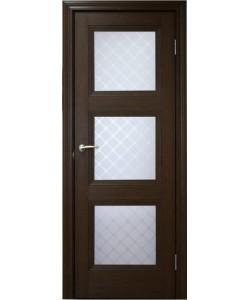 Межкомнатная дверь 3 V Туркуаз Дуб темный