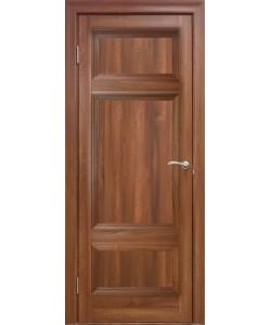 Межкомнатная дверь 4 Р Вельвет орех