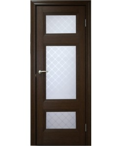 Межкомнатная дверь 4 V Туркуаз Дуб темный