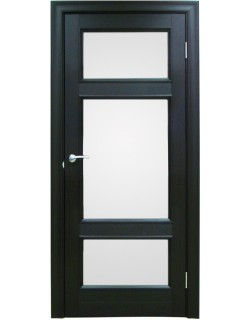 Межкомнатная дверь 4 V Велюр шоко