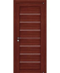 Межкомнатная дверь Light 2125 (X-Line) ПГ Вельвет орех