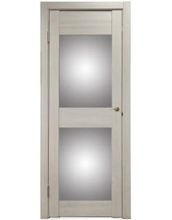 Дверь межкомнатная U-3000 капучино, зеркальное стекло