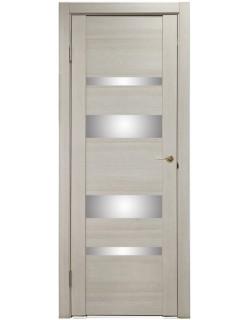 Дверь межкомнатная U-3013 капучино, зеркальное стекло