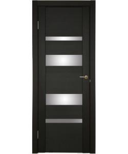 Дверь межкомнатная U-3013 шоко, зеркальное стекло