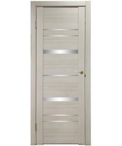 Дверь межкомнатная U-3027 капучино, зеркальное стекло