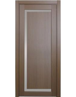 Дверь межкомнатная XL12 орех классик, стекло