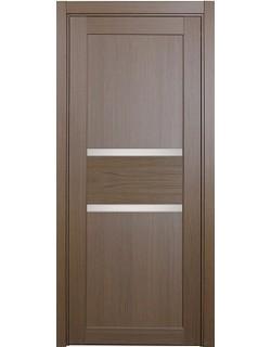 Дверь межкомнатная XL14 орех классик, стекло