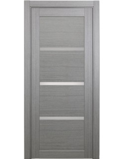 Дверь межкомнатная XL16 дуб серый, стекло