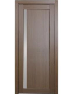 Дверь межкомнатная XL15 орех классик, стекло