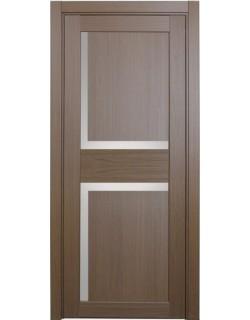Дверь межкомнатная XL17 орех классик, стекло