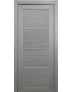 Дверь межкомнатная XL19 дуб серый, стекло
