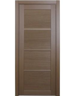 Дверь межкомнатная XL19 орех классик, стекло
