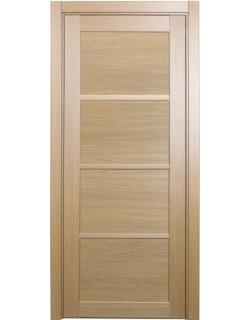 Дверь межкомнатная XL19 орех светлый, стекло