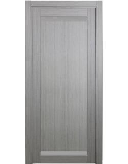 Дверь межкомнатная XL02 дуб серый, стекло