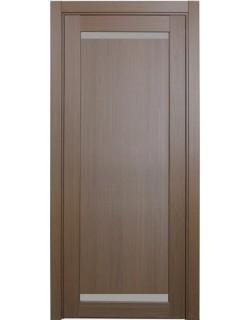 Дверь межкомнатная XL02 орех классик, стекло