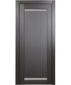 Дверь межкомнатная XL02 венге, стекло