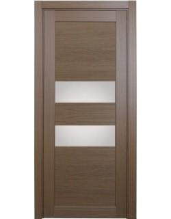 Дверь межкомнатная XL03 орех классик, стекло