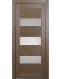 Дверь межкомнатная XL04 орех классик, стекло