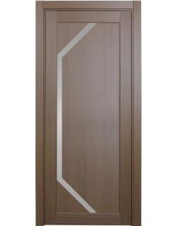 Дверь межкомнатная XL05 орех классик, стекло