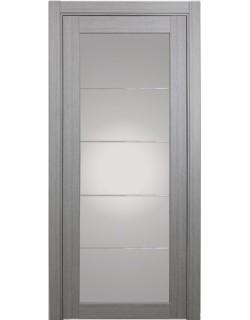 Дверь межкомнатная XL07 мираж, дуб серый