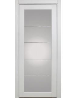 Дверь межкомнатная XL07 мираж, белый