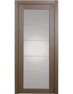 Дверь межкомнатная XL07 мираж, орех классик