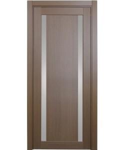 Дверь межкомнатная XL08 орех классик, стекло