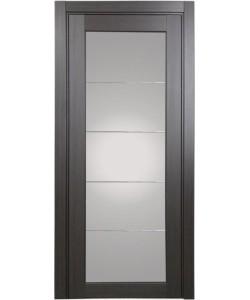 Дверь межкомнатная XL07 мираж, венге